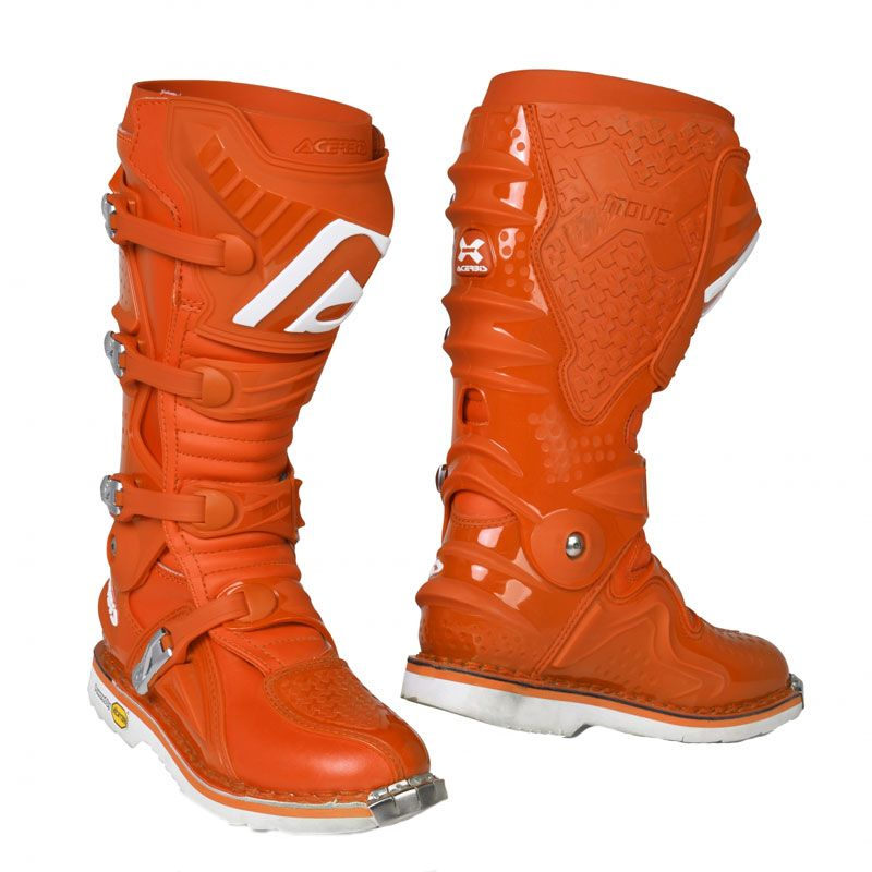 Botas de motocross Acerbis X-MOVE 2.0 - ORANGE - 2020