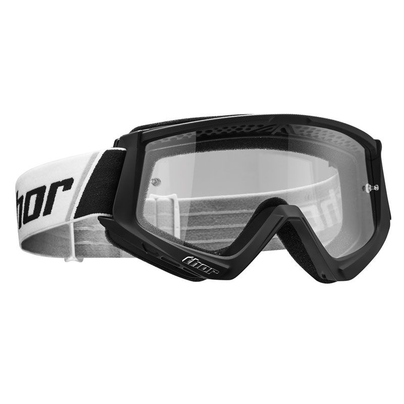 Gafas de motocross Thor YOUTH COMBAT - BLACK WHITE