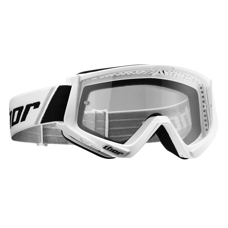 Gafas de motocross Thor YOUTH COMBAT WHTE BLACK
