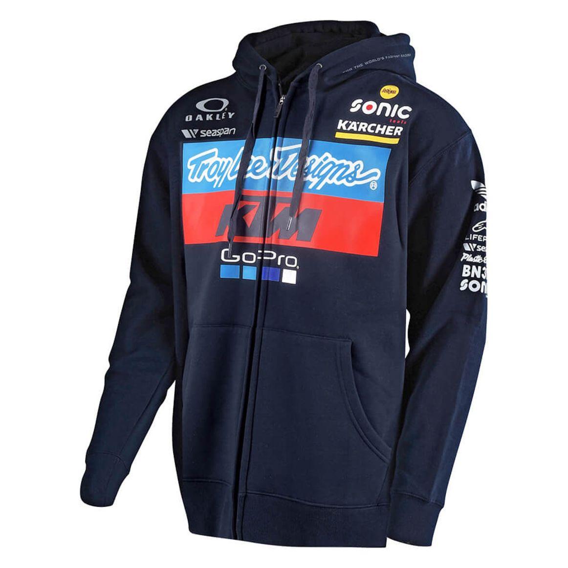 Troy Lee Designs KTM 2018 equipo para hombre Jersey con Capucha MX Casuals