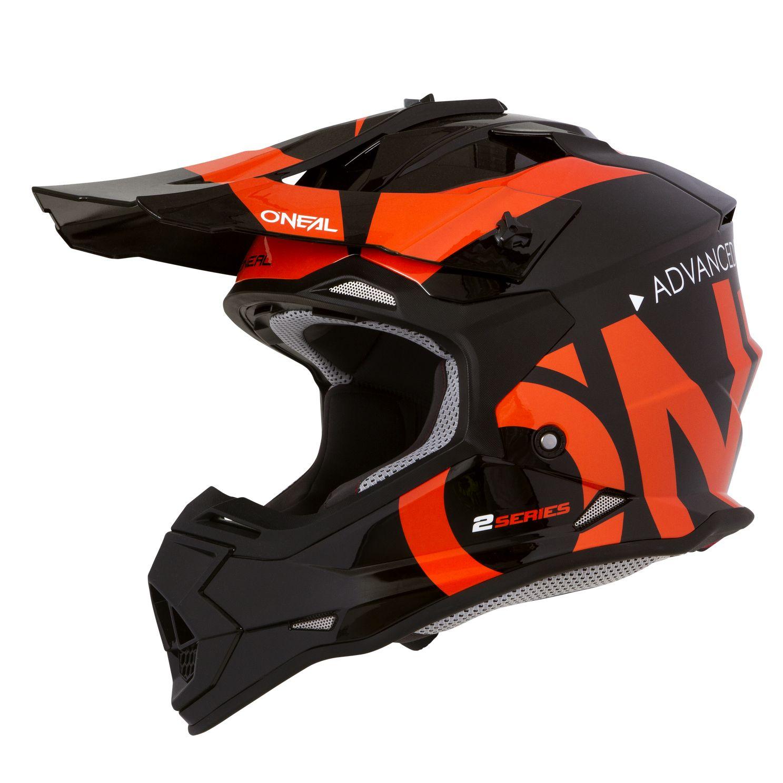 b54c1955222e7 Casco de motocross O Neal 2 SERIES RL - SLICK - BLACK ORANGE 2020 ...
