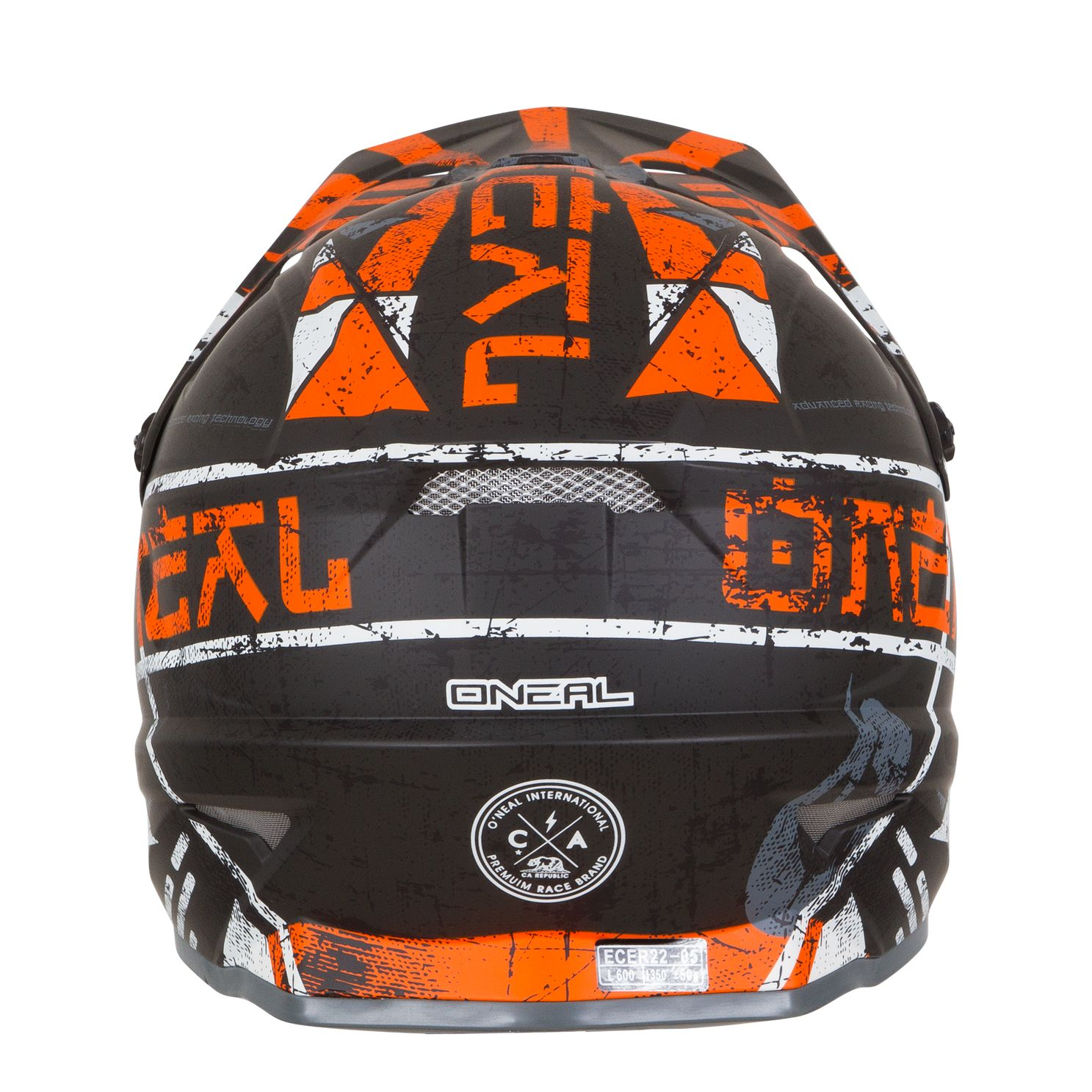 Casco de motocross O'Neal 3 SERIES - ZEN - ORANGE 2019