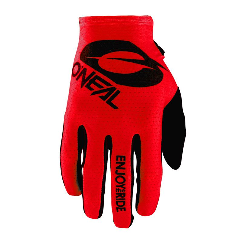 Guantes de motocross O'Neal MATRIX - STACKED - RED 2021