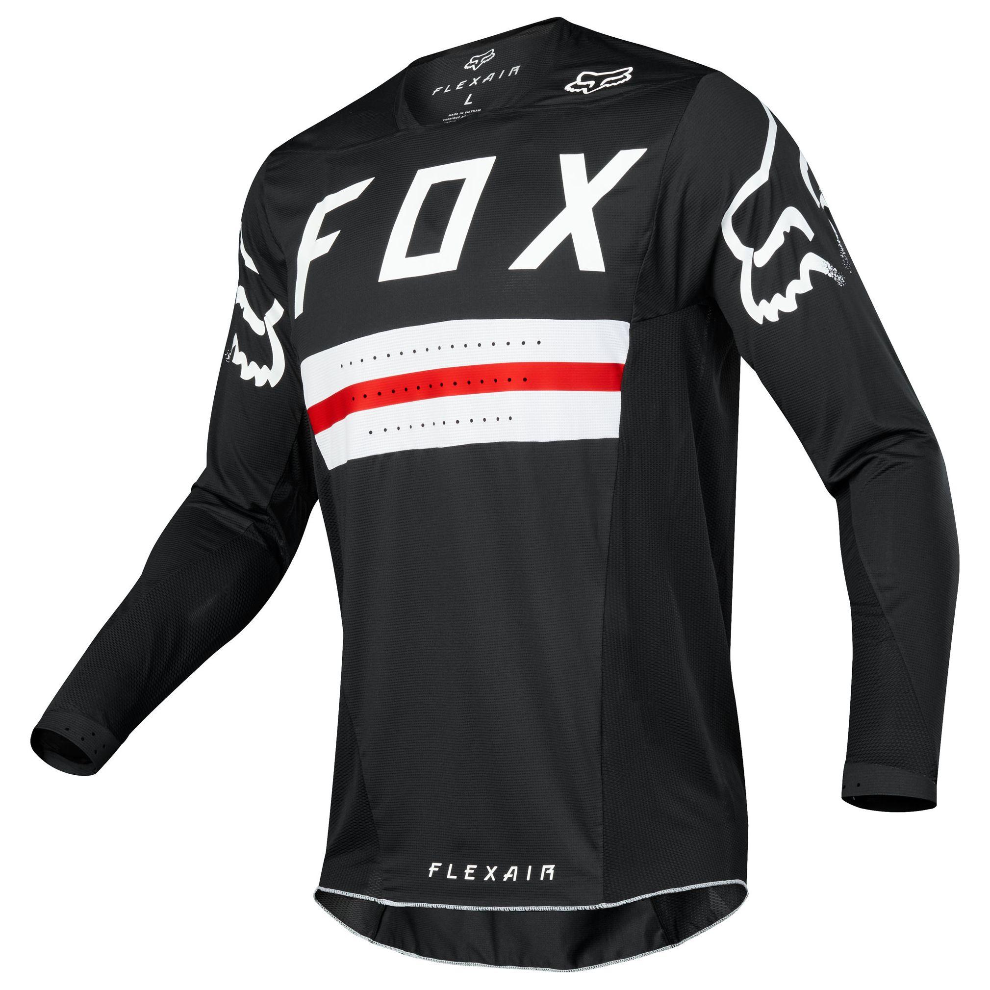 Camiseta De Motocross Fox Destockage Flexair Jersey Preest A1 Limited Edition Motoblouz Es