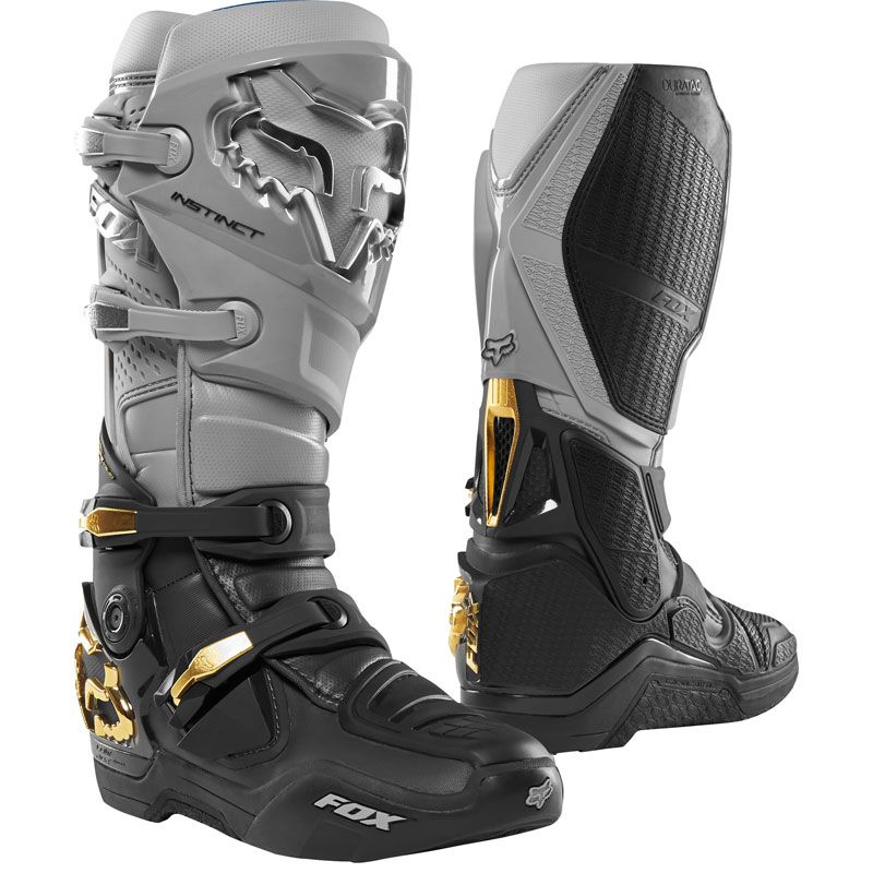 De Fox Road 2019 Grey Motocross Off Botas Black Instinct qExaqnd