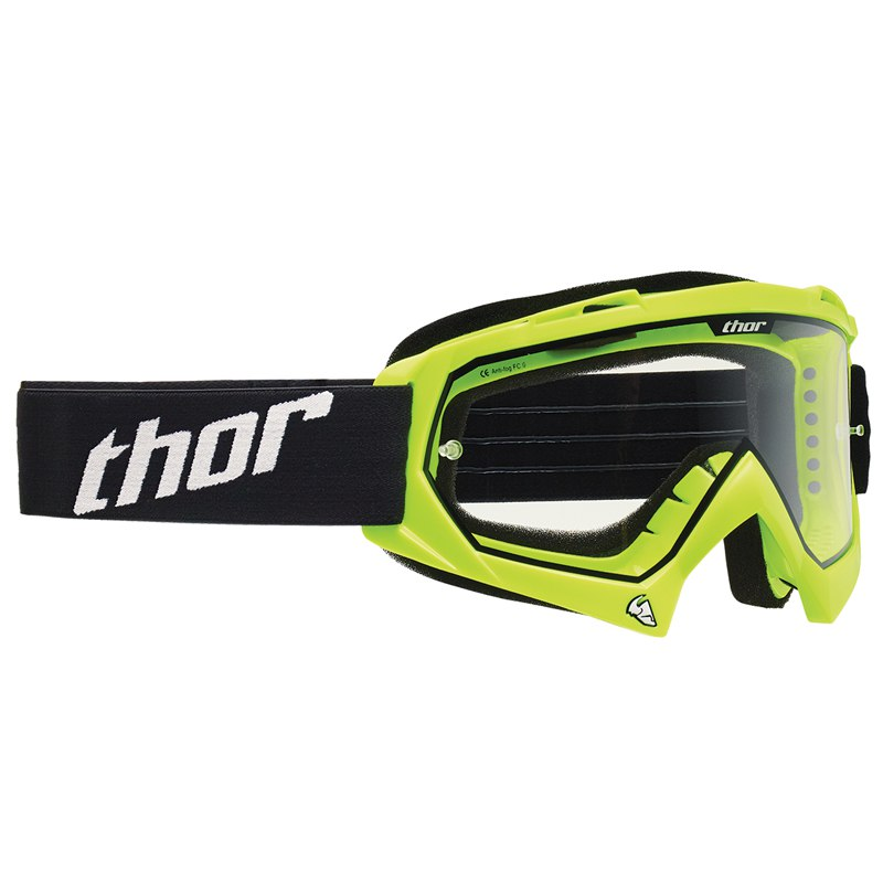 Gafas de motocross Thor Enemy Fluorescent Green (NIÑO)