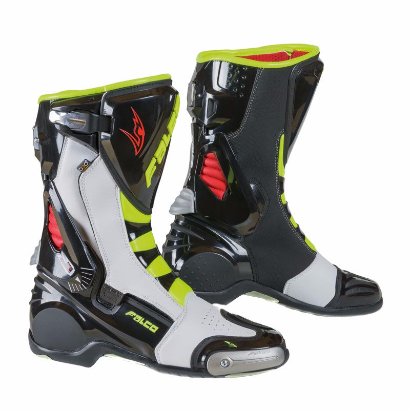 36dcf2403f9 Botas Falco ESO LX 2.1 BLACK WHITE RED YELLOW FLUO - Botas y calzado ...