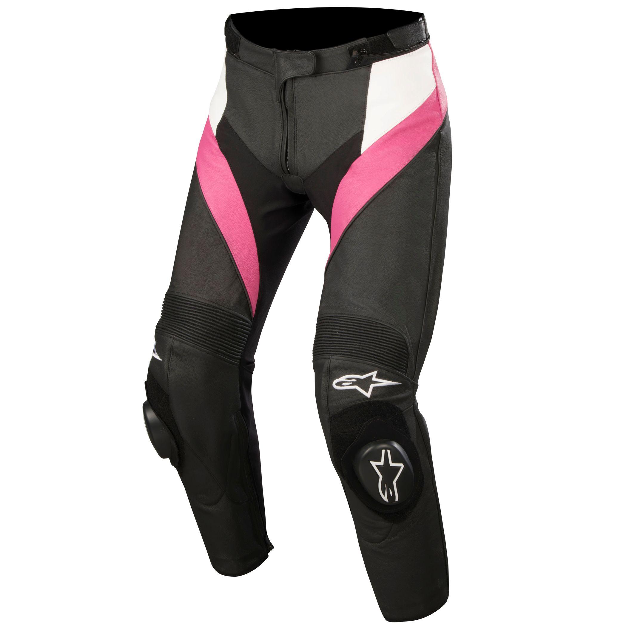 Pantalon Alpinestars Stella Missile Leather Pants Pantalones Moto Motoblouz Es