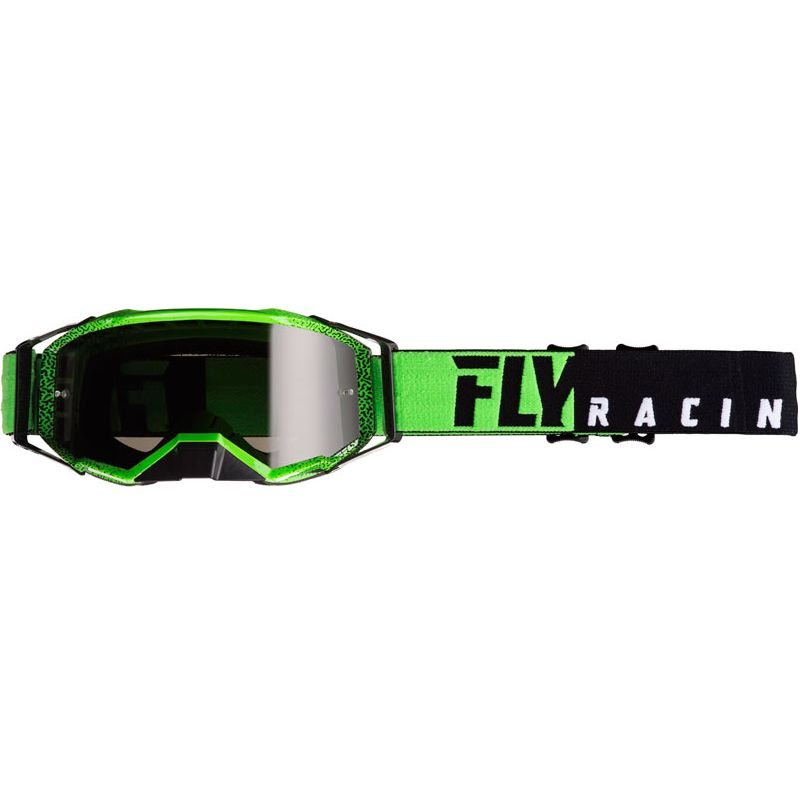 Gafas de motocross Fly ZONE PRO - BLACK GREEN 2020