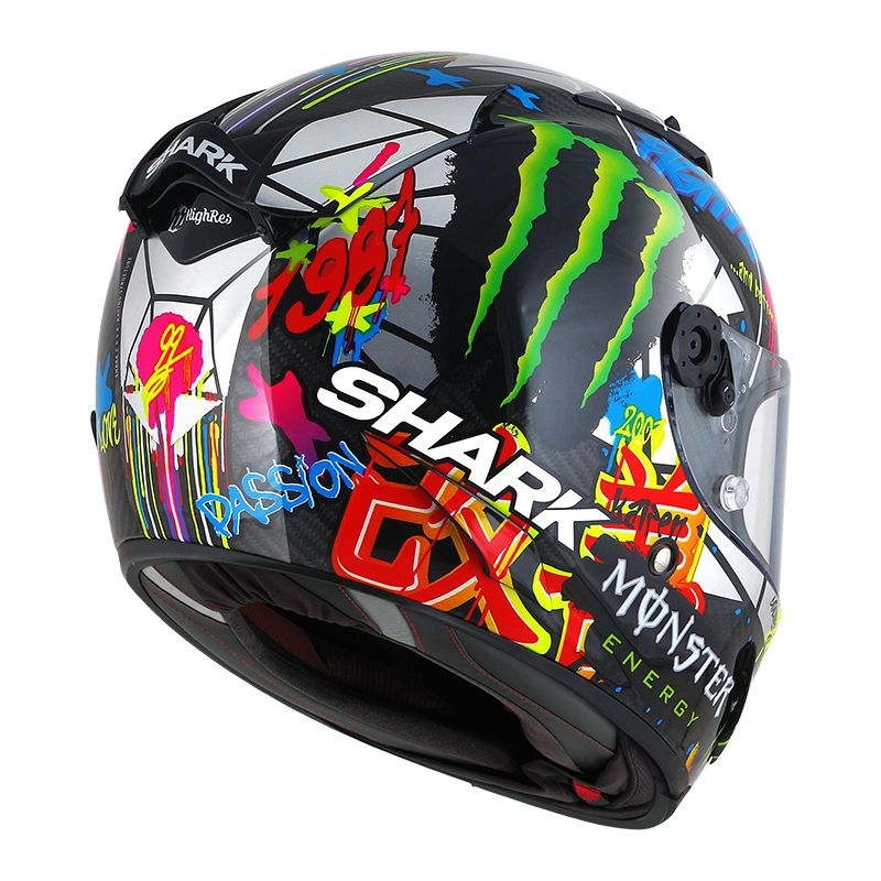 Casco Shark RACE-R PRO CARBON - REPLICA LORENZO CATALUNYA GP