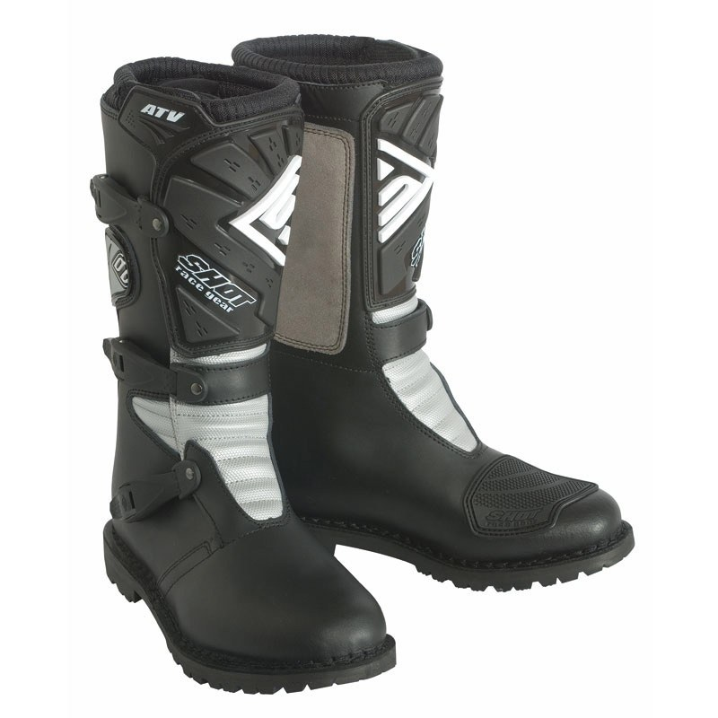 Botas de motocross Shot destockage ATV  NEGRO 2018