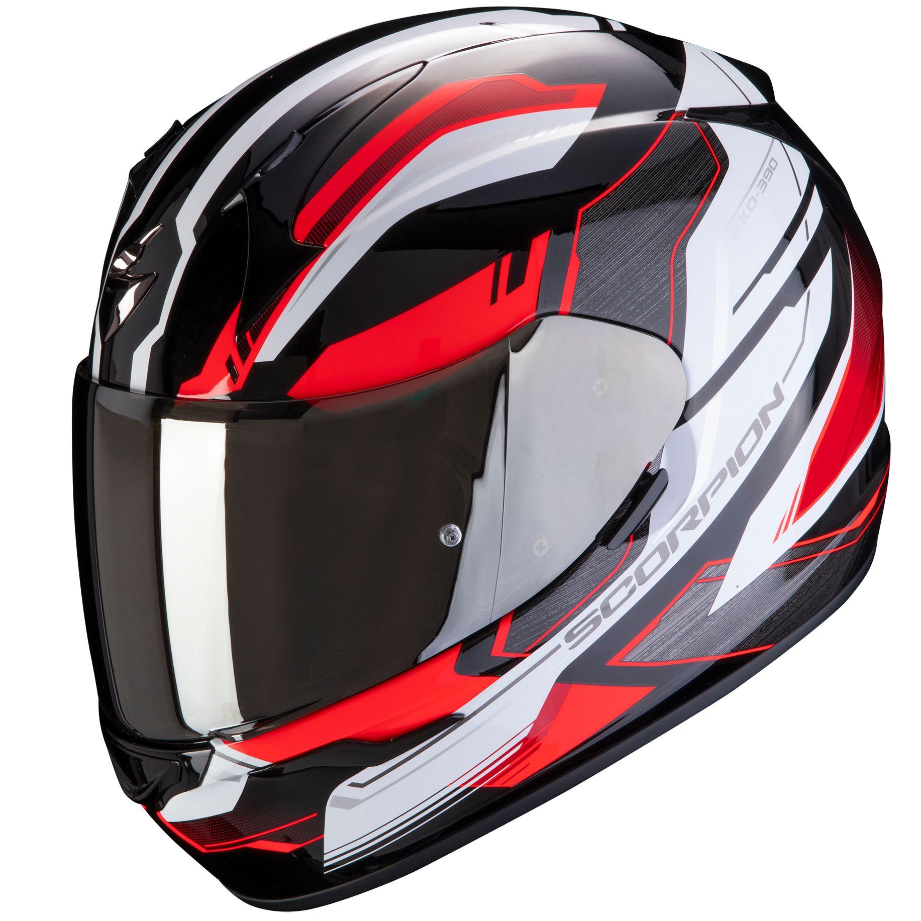 multicolor Scorpion Casco Moto exo-390 talla L