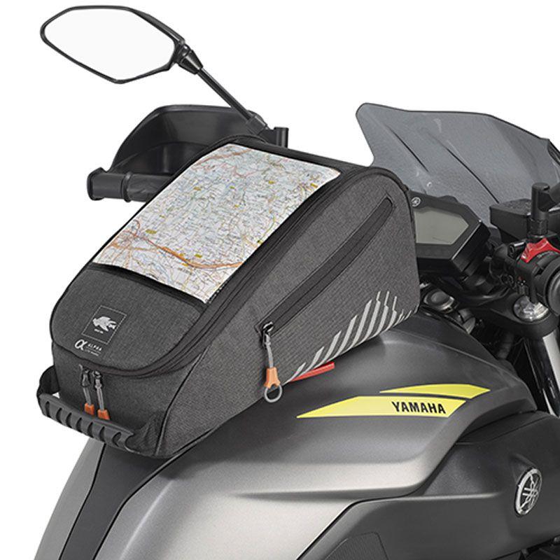 guirnalda antena Estación  Bolsa sobredepósito Kappa AH213 Tanklock - Maletas y equipaje moto -  Motoblouz.es