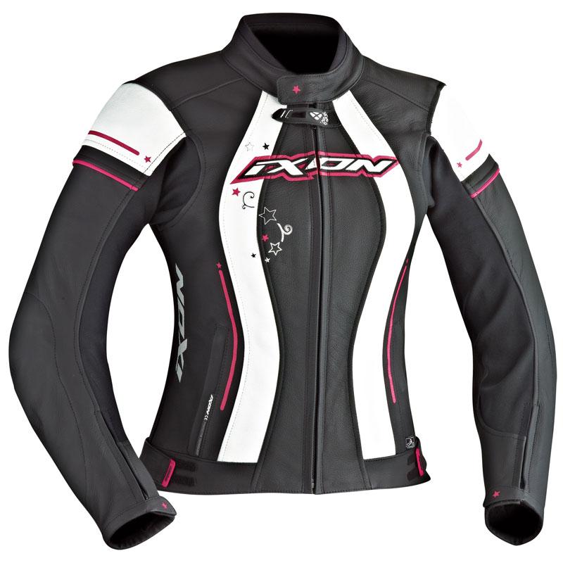 Chaqueta moto mujer ixon