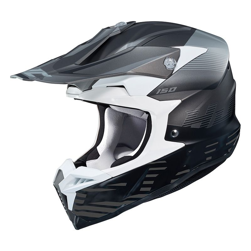casco de motocross hjc i50 fury black grey 2019 cascos off road. Black Bedroom Furniture Sets. Home Design Ideas