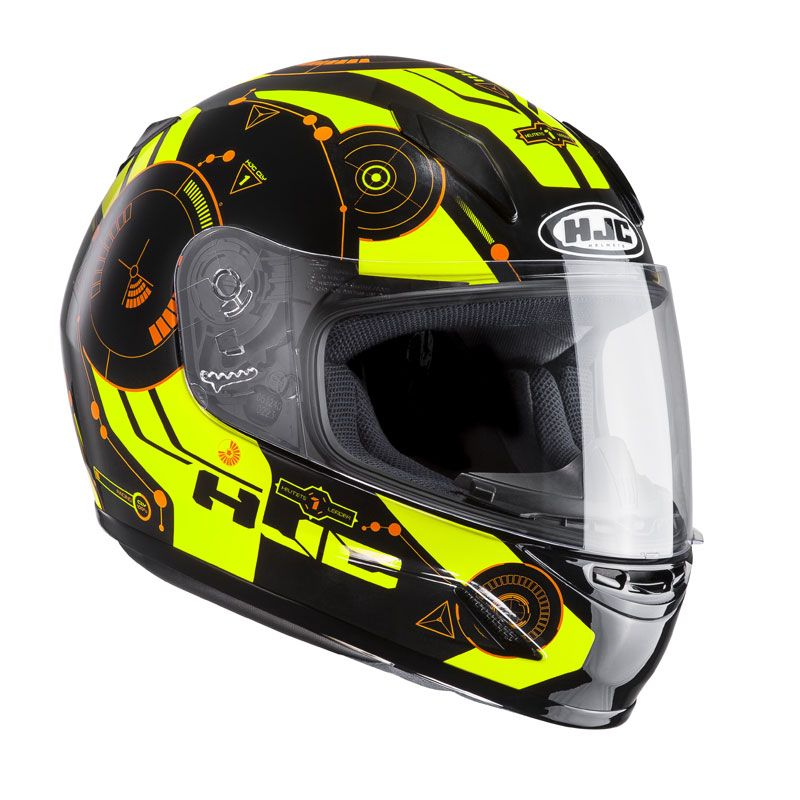 Casco Moto integral infantil HJC Cl Y simitic mc4h MEDIUM