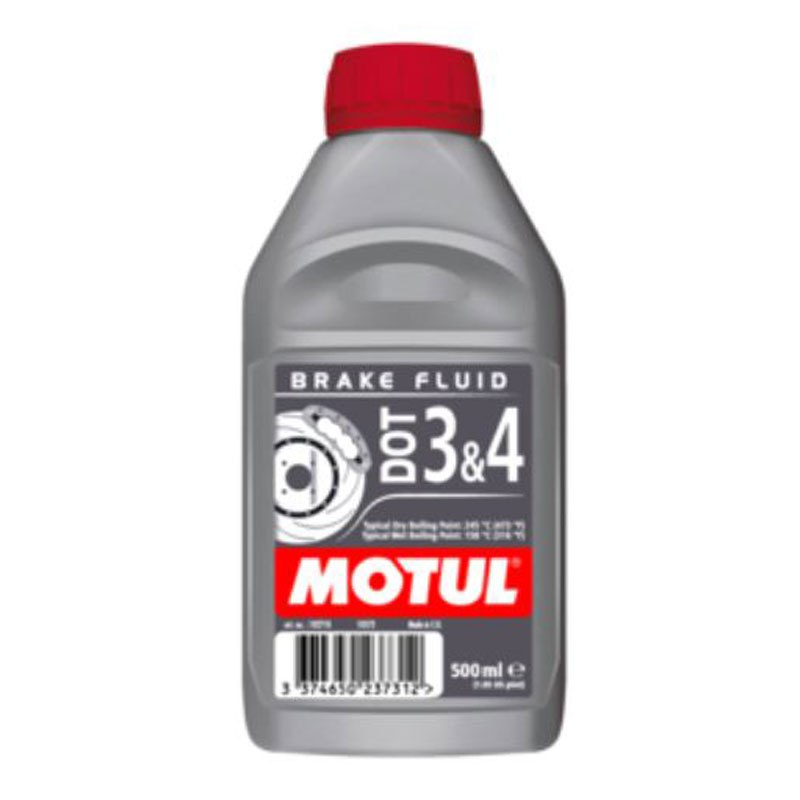 Brake fluid Motul DOT 3 & 4 500ML