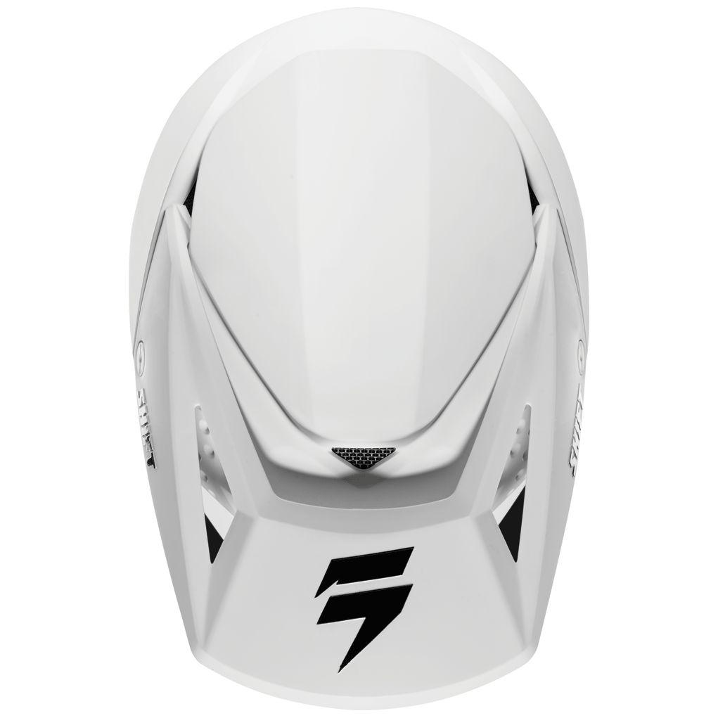 2568addc0752c Casco de motocross Shift YOUTH WHIT3 - WHITE - EquipaciÓn infantil ...