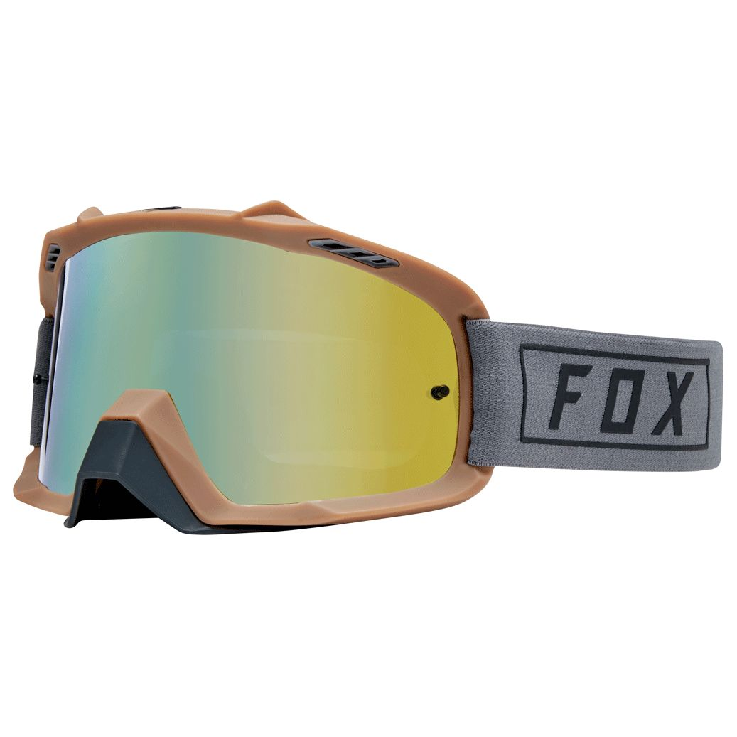 Gafas de motocross Fox YOUTH AIR SPACE - GASOLINE -GREY