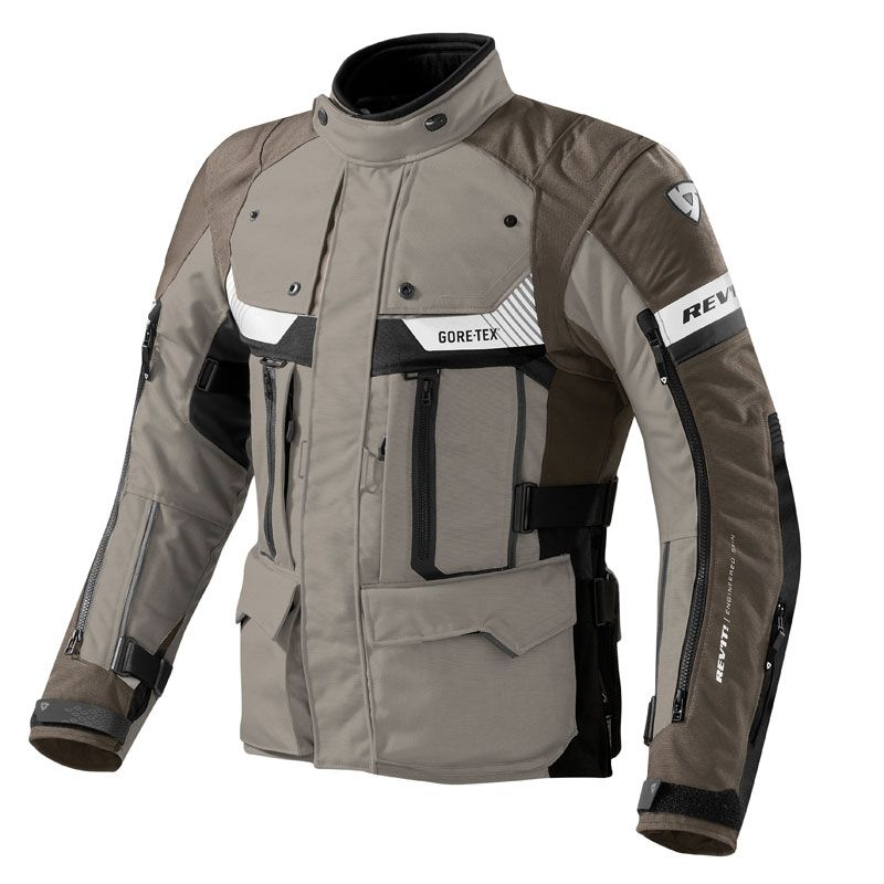 Chaqueta de moto Rev It Defender Gore-Tex
