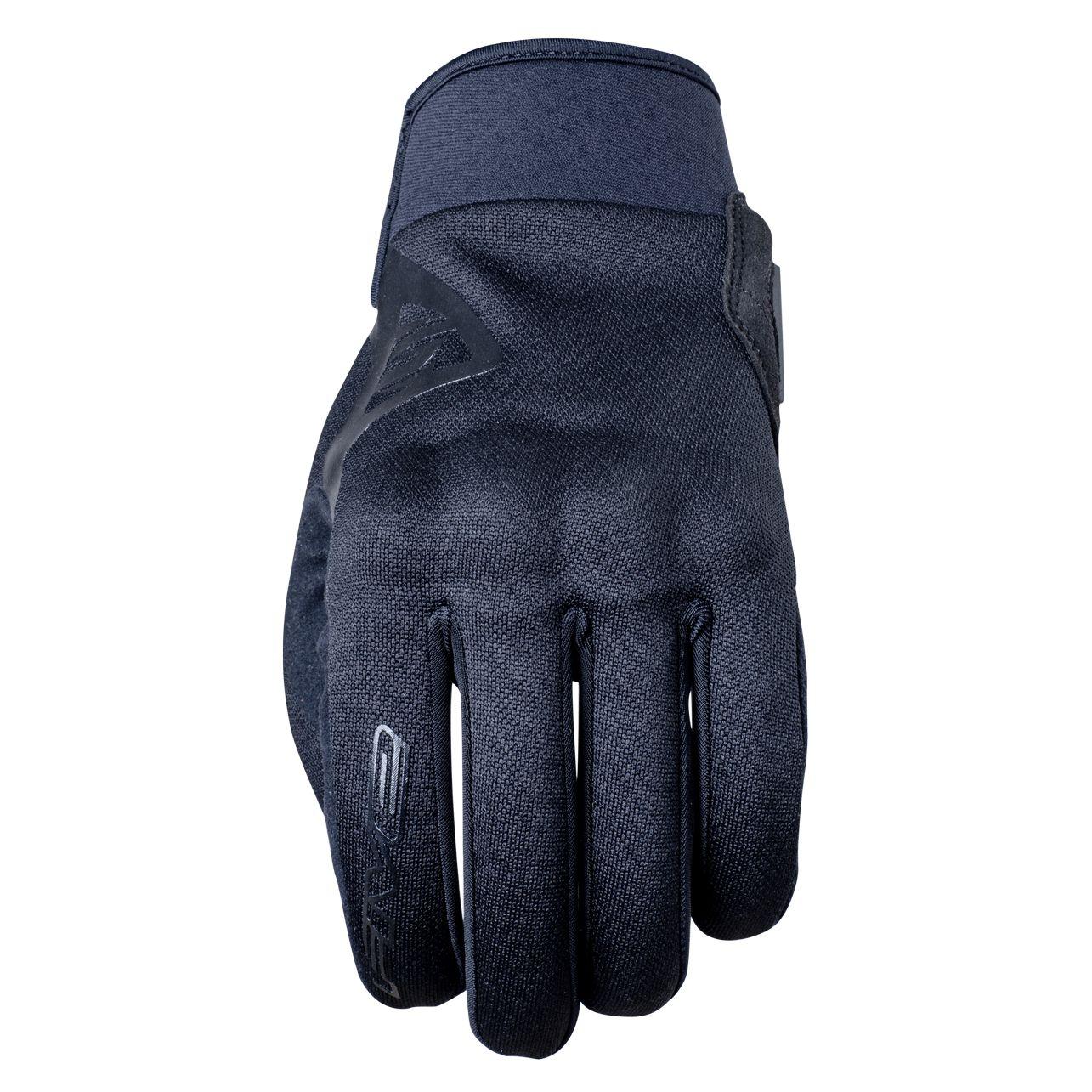 High Top Textil Guantes, Color Negro, Talla 42