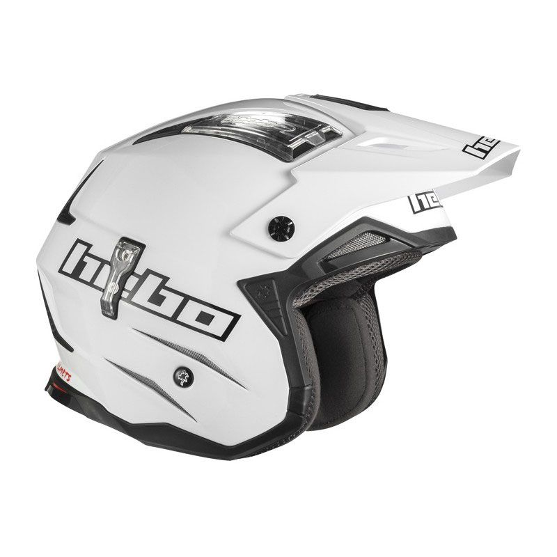 Casco Trial Hebo ZONE 4 WHITE 2019