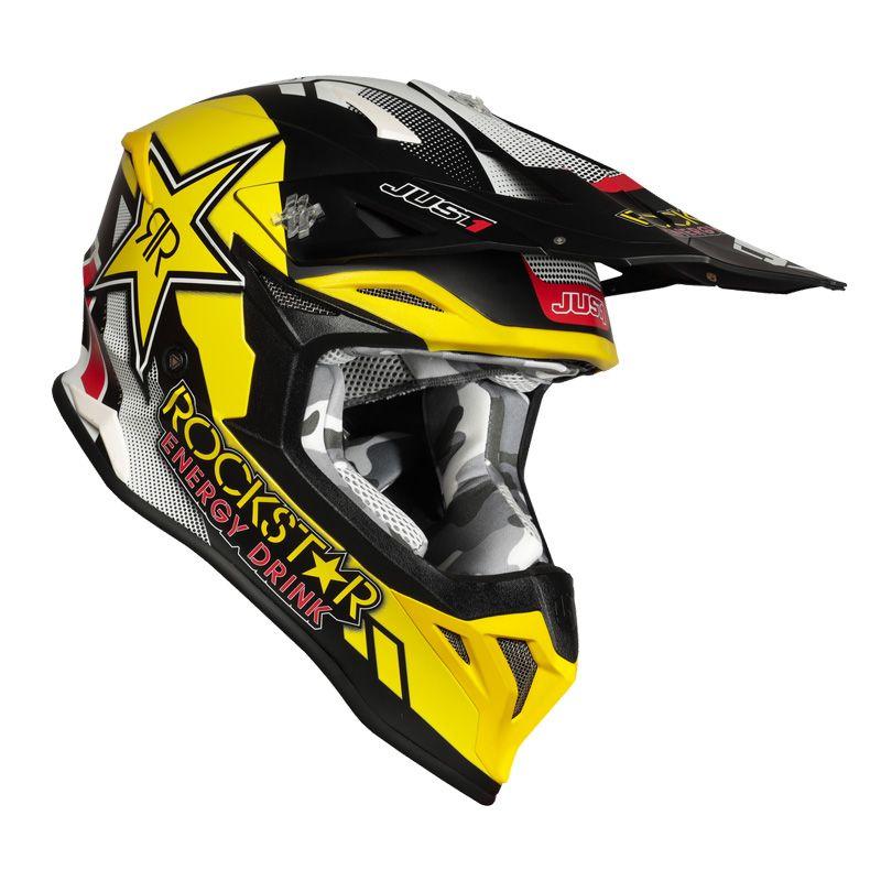 Just1 J39 Rockstar Casco de Motocross