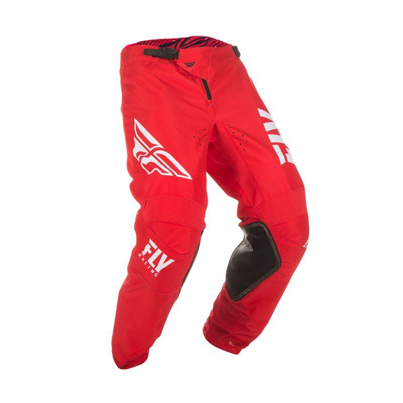 Fly Racing Mens Red//White Kinetic Shield Dirt Bike Pants ATV UTV MX