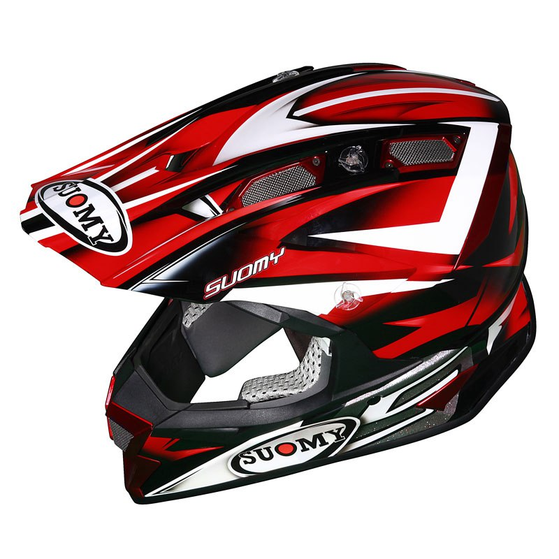 Casco de motocross Suomy ALPHA BIKE ROJO 2017