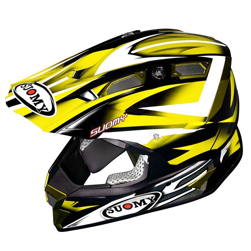 Casco de motocross Suomy ALPHA BIKE AMARILLO 2017