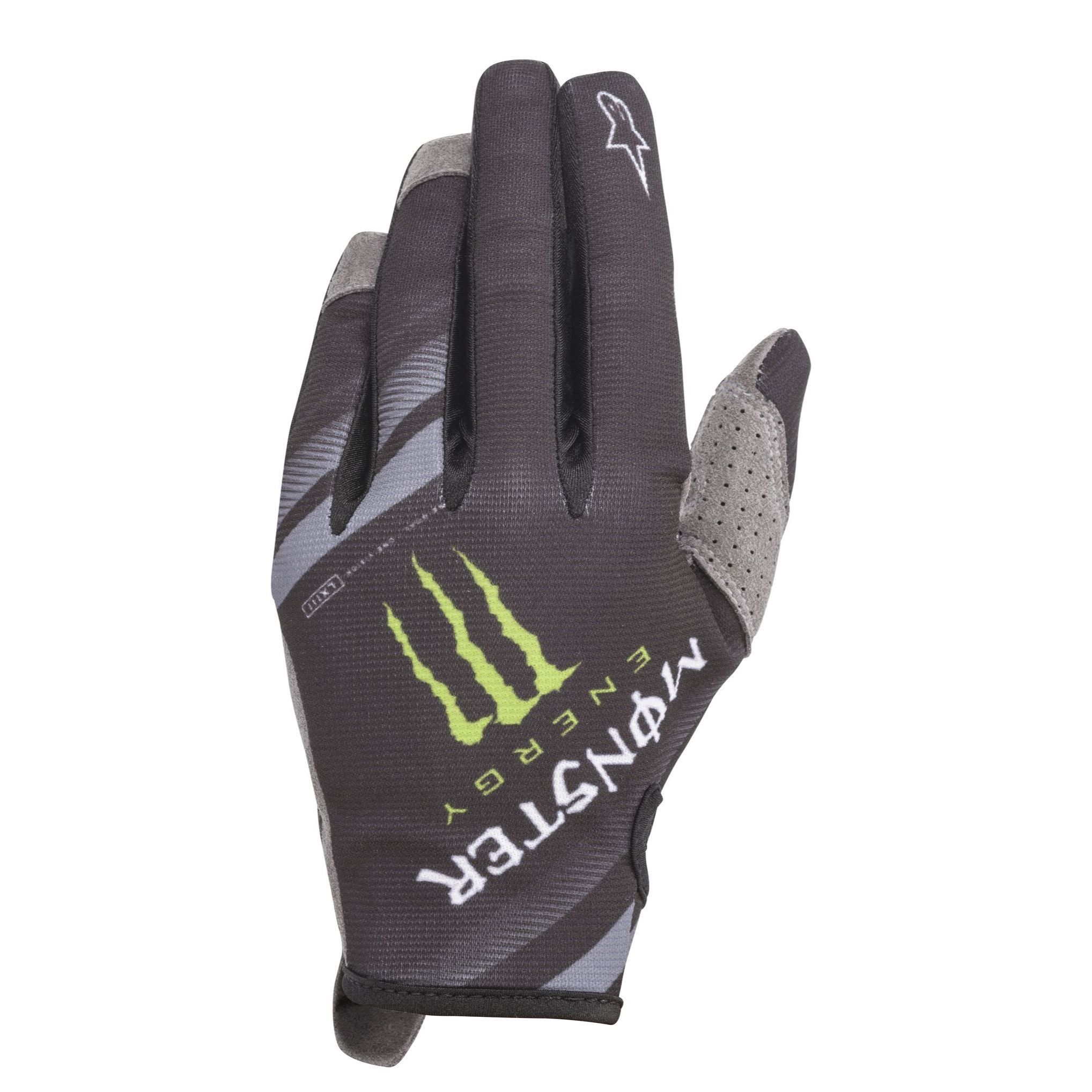 Guantes de motocross ALPINESTARS MONSTER RACER GEAR - MONSTER - BLACK BRIGHT GREEN RED 2020