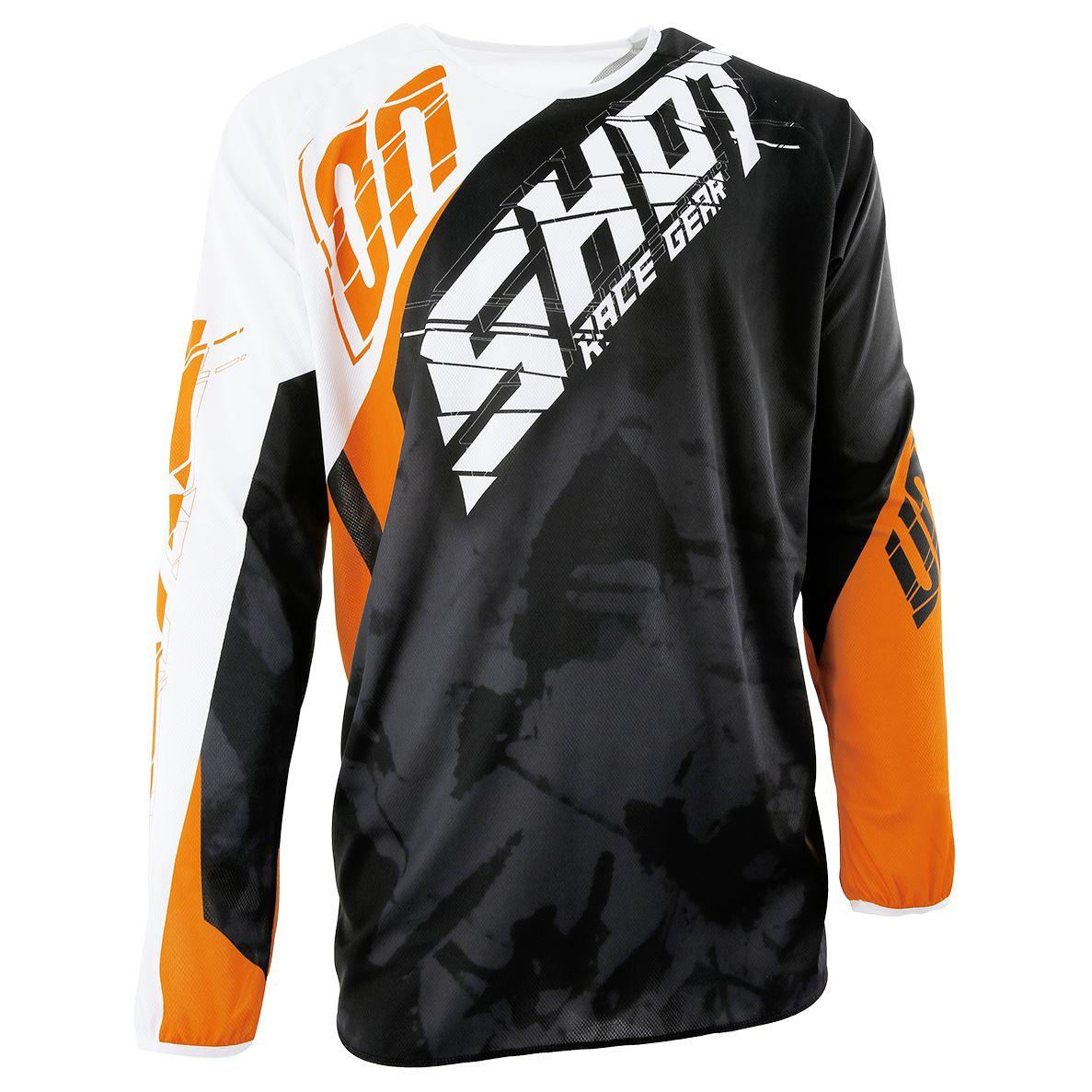 b5ea4f46a5b Camiseta de motocross Shot outlet DEVO SQUAD NARANJA 2017 - Motoblouz.es