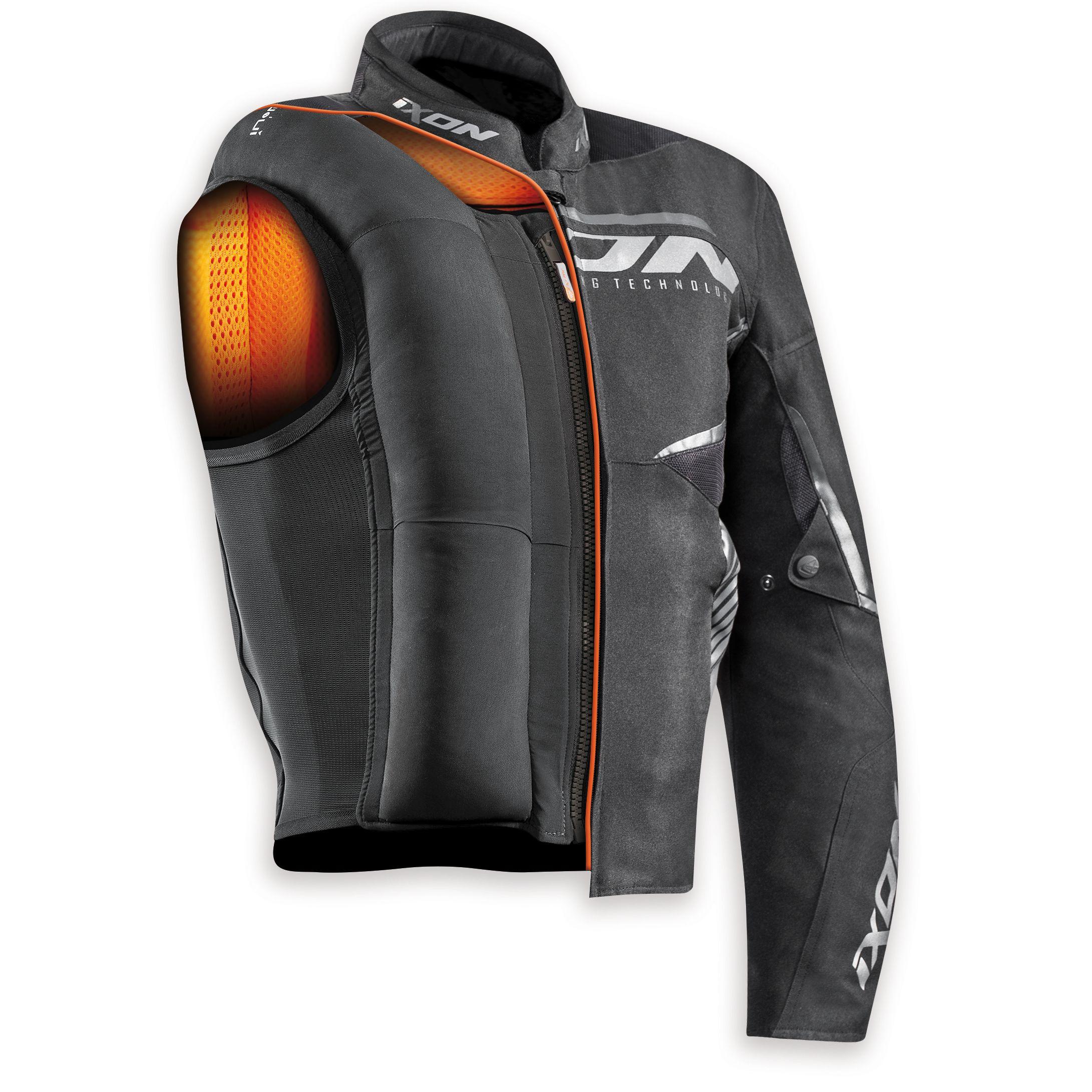 7e5e75f60ad Gilet Airbag Ixon IX-AIRBAG UO3 - Cazadoras y chaquetas moto ...