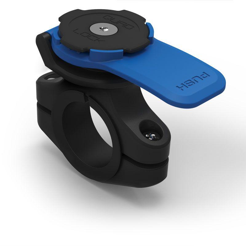 soporte quad lock para smartphone high tech moto. Black Bedroom Furniture Sets. Home Design Ideas