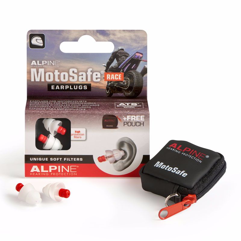 Hearing protectors ALPINE MOTO SAFE RACE