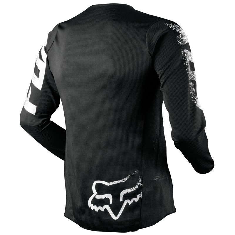 Camiseta de motocross Fox BLACKOUT ML NIÑO