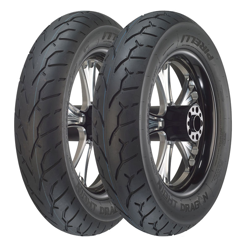 Neumático Pirelli NIGHT DRAGON 120/70 ZR 19 (60W) TL