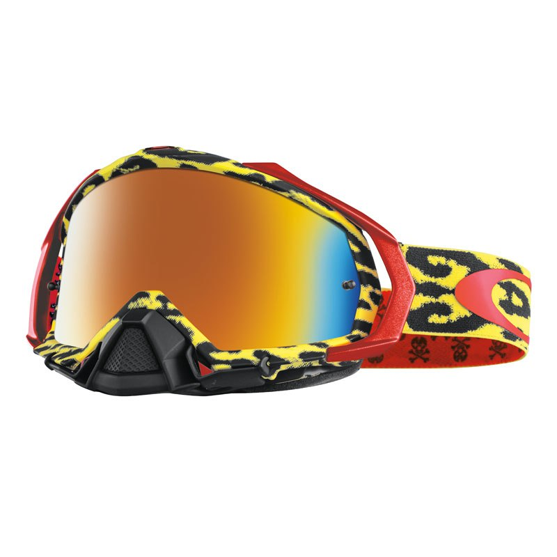 Gafas de motocross Oakley outlet MAYHEM PRO MX - CHEETAH YELLOW 2017