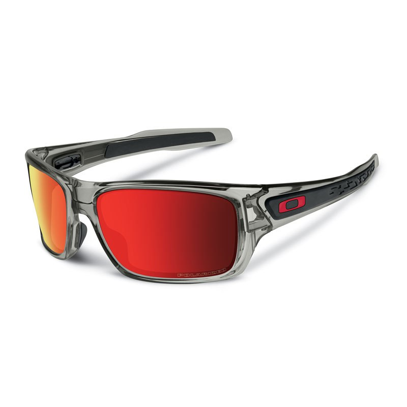 Gafas de sol Oakley TURBINE GREY INK RUBY IRIDIUM POLARIZED