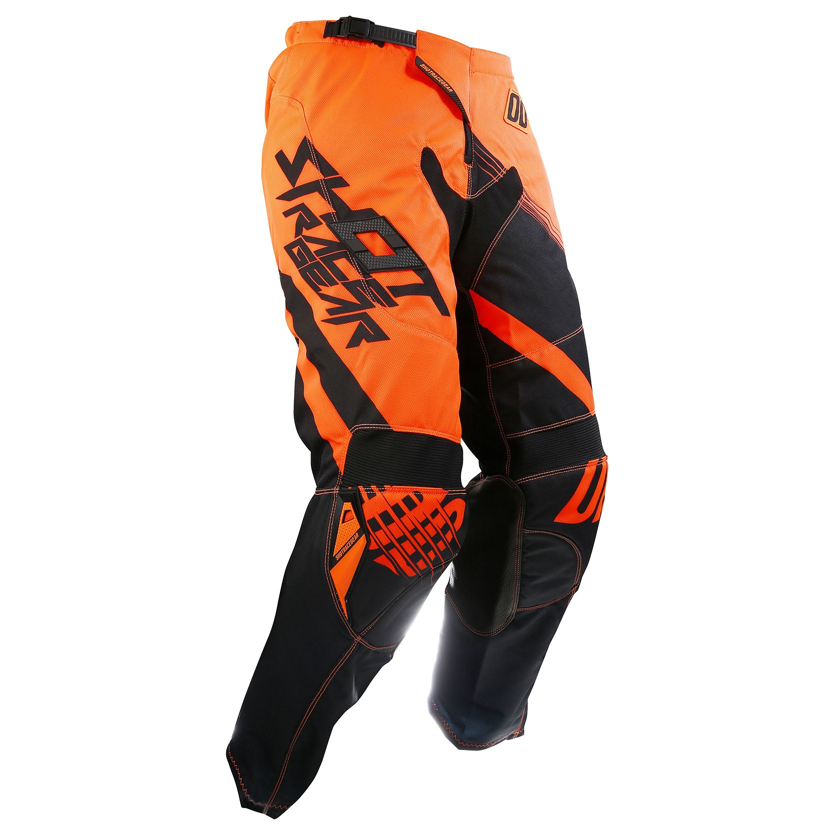 9c83eeb2885 Pantalón de motocross Shot outlet CONTACT CLAW NEON NARANJA 2017 ...