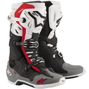 TECH 10 - SUPERVENTED - BLACK WHITE MID GRAY RED