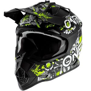 2 SERIES - YOUTH ATTACK - BLACK NEON YELLOW MATT