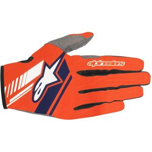 NEO GLOVES - ORANGE FLUO DARK BLUE