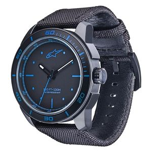 TECH 3H - BLACK - BLACK NYLON STRAP