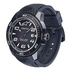 TECH 3H - BLACK - SILICON STRAP BLACK/BLACK