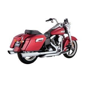 Twin slash Slip-on mufflers
