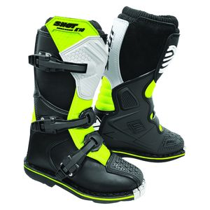 K10 2.0 - KID - BLACK WHITE NEON YELLOW
