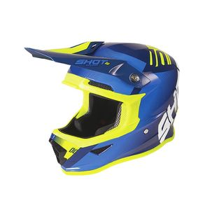 FURIOUS KID - TRUST - DEEP BLUE NEON YELLOW GLOSSY