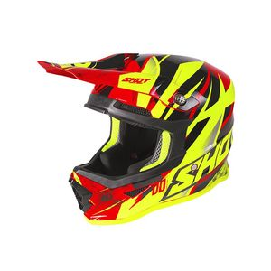 FURIOUS KID - VENTURY - BLACK RED NEON YELLOW GLOSSY