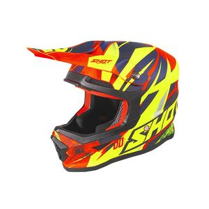 FURIOUS KID - VENTURY - NEON ORANGE DEEP BLUE GLOSSY